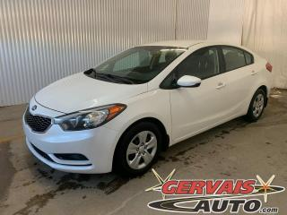 Used 2016 Kia Forte LX A/C Bluetooth *Transmission Automatique* for sale in Trois-Rivières, QC