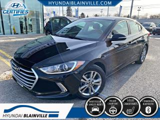 Used 2017 Hyundai Elantra GL, ANGLES MORTS, CAMERA DE RECUL, VOLAN for sale in Blainville, QC
