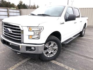 Used 2017 Ford F-150 XLT CREW XTR 4WD for sale in Cayuga, ON