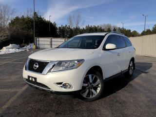 Used 2014 Nissan Pathfinder Platinum 4WD for sale in Cayuga, ON