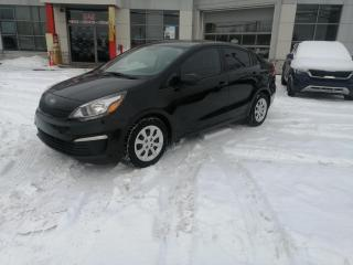 Used 2016 Kia Rio LX+ A/C ** BLUETOOTH **DEMAREUR A DISATANCE for sale in Mcmasterville, QC