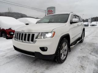 Used 2011 Jeep Grand Cherokee 4 RM Overland JEEP AWD VUS 4X4 V8 for sale in Val-David, QC
