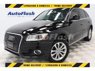 Used 2017 Audi Q5 2.0T PROGRESSIV *GPS/CAMERA *TOIT-PANO/ROOF for sale in St-Hubert, QC