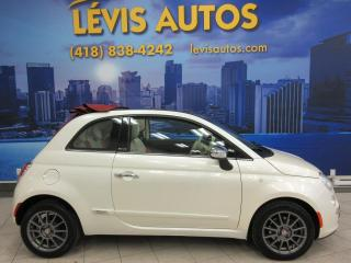 Used 2013 Fiat 500 C LOUNGE AUTOMATIQUE CUIR 108 900KM CONVER for sale in Lévis, QC