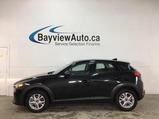 Used 2020 Mazda CX-3 GS - AWD! LEATHER TRIM! SUNROOF! 17,000KMS! for sale in Belleville, ON