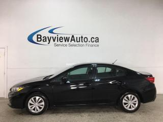 Used 2018 Subaru Impreza Convenience - AUTO! AWD! REVERSE CAM! + MORE! for sale in Belleville, ON