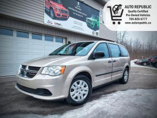 Used 2014 Dodge Grand Caravan SE for sale in Orillia, ON