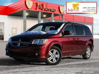 Used 2019 Dodge Grand Caravan Crew Great Family Vehicle,7Pass for sale in Brandon, MB