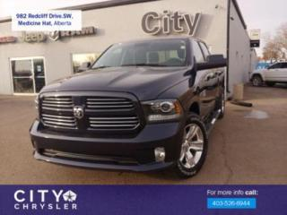 Used 2017 RAM 1500 SPORT for sale in Medicine Hat, AB