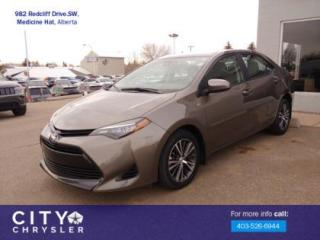 Used 2017 Toyota Corolla LE for sale in Medicine Hat, AB