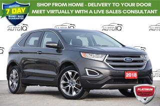 Used 2018 Ford Edge Titanium TITANIUM 301A | 3.5L ENGINE | TOURING PACKAGE for sale in Kitchener, ON