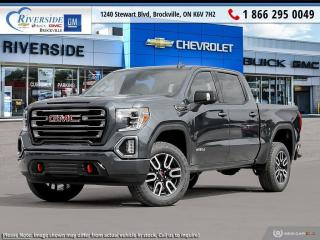 New 2021 GMC Sierra 1500 AT4 for sale in Brockville, ON
