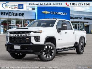New 2021 Chevrolet Silverado 2500 HD Custom for sale in Brockville, ON