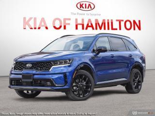 New 2021 Kia Sorento 2.5T SX w/Black Leather for sale in Hamilton, ON