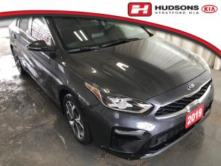 Used 2019 Kia Forte EX One Owner | Clean CarFax | Wireless Phone Charger for sale in Stratford, ON
