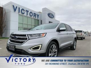 Used 2016 Ford Edge Titanium| ROOF| NAV| HEATED SEATS for sale in Chatham, ON