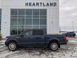 Used 2018 Ford F-150 Limited PANORAMIC SUNROOF | REMOTE START | HEATED STEERING WHEEL & SEATS | NAVIGATION | BACK UP CAMERA-USED for sale in Fort Saskatchewan, AB