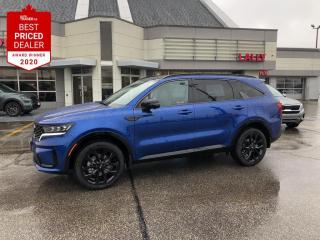 New 2021 Kia Sorento 2.5T SX w/Black Leather for sale in Chatham, ON