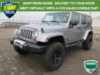 Used 2013 Jeep Wrangler Unlimited Sahara Trail Rated for sale in St. Thomas, ON