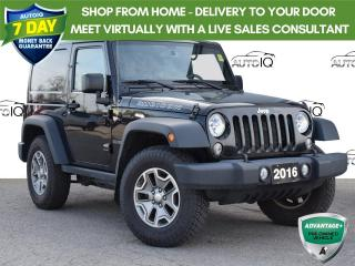 Used 2016 Jeep Wrangler Rubicon Trail Rated for sale in St. Thomas, ON