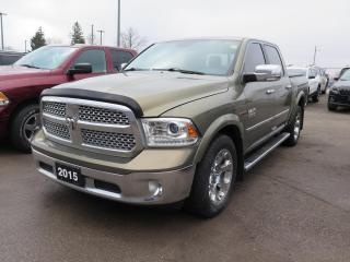 Used 2015 RAM 1500 Laramie 1 owner trade for sale in St. Thomas, ON