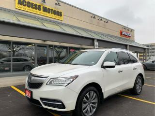 Used 2014 Acura MDX SH-AWD 4dr Tech Pkg for sale in North York, ON