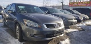 Used 2008 Honda Accord EX-L for sale in Pickering, ON