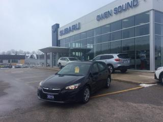 Used 2019 Subaru Impreza CONVENIENCE for sale in Owen Sound, ON