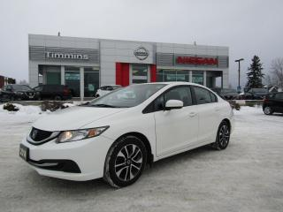 Used 2014 Honda Civic EX for sale in Timmins, ON
