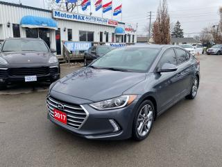 Used 2017 Hyundai Elantra GLS-ACCIDENT FREE for sale in Stoney Creek, ON