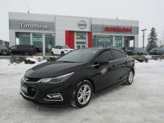 Used 2016 Chevrolet Cruze LT for sale in Timmins, ON