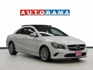 Used 2017 Mercedes-Benz CLA250 4Matic Navigation Leather Panoramic Sunroof for sale in Toronto, ON