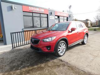 Used 2014 Mazda CX-5 GT|NAVI|LEATHER|BACKUP CAMERA|SKYACTIV for sale in St. Thomas, ON