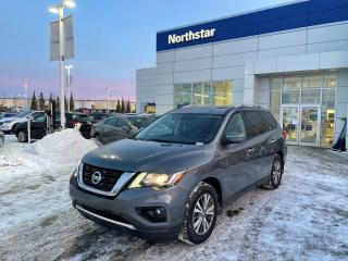 Used 2019 Nissan Pathfinder SV TECH/NAV/BACKUPCAM/HEATEDSEATS/7PASS for sale in Edmonton, AB