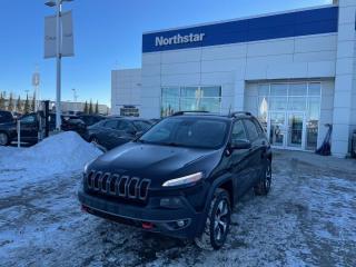 Used 2015 Jeep Cherokee V6 LEATHER/NAV/SUNROOF/BACKUPCAM for sale in Edmonton, AB