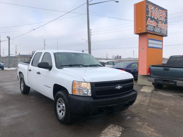 2008 Chevrolet Silverado 1500 4X4**CREW CAB**V8**VERY CLEAN*CERTIFIED