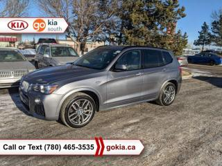 Used 2017 BMW X3 28i; HUD, PANORAMIC SUNROOF, BEIGE LEATHER, NAV, HEATED SEATS, BUTTON START, AWD, 3M for sale in Edmonton, AB