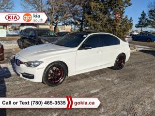 Used 2014 BMW 3 Series 328xi; SUNROOF, AWD, HEATED SEATS, LEATHER, BUTTON START, WINTER TIRES, AFTERMARKET EXHAUST for sale in Edmonton, AB