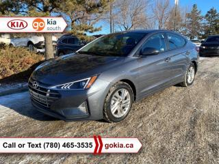 Used 2020 Hyundai Elantra PREFERRED; LOW KM!!!, HEATED SEATS/WHEEL, A/C, BACKUP CAMERA, BLUETOOTH for sale in Edmonton, AB
