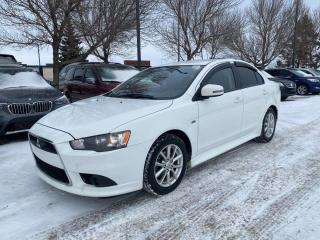 Used 2015 Mitsubishi Lancer SE; AUTOMATIC, WINTER TIRES, HEATED SEATS, A/C, BLUETOOTH, GREAT ON GAS for sale in Edmonton, AB