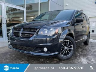 Used 2018 Dodge Grand Caravan GT- LEATHER, BLUETOOTH, POWER DOORS, AND MUCH MORE! for sale in Edmonton, AB