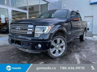 Used 2014 Ford F-150 Limited - 3.5L ECOBOOST, FULL JAM, EXTREMELY LOW KMS! THIS TRUCK RIDES LIKE A DREAM! for sale in Edmonton, AB