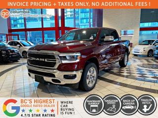 New 2021 RAM 1500 Big Horn for sale in Richmond, BC