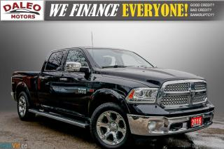 Used 2016 RAM 1500 LARAMIE / LEATHER / NAVI / SUNROOF / LOADED for sale in Hamilton, ON