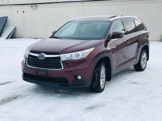 Used 2016 Toyota Highlander Hybrid Limited|Leather|Navi| for sale in Bolton, ON