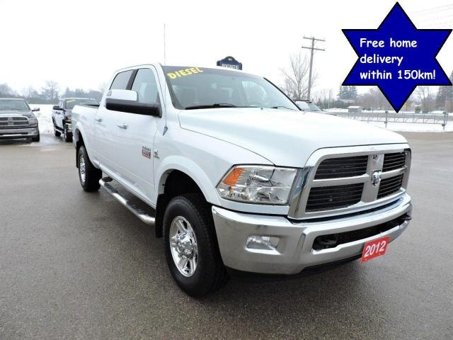 2012 RAM 3500 Laramie Diesel Leather Loaded No rust