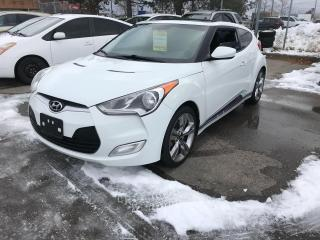 Used 2013 Hyundai Veloster Man,TECH,LTD,ROOF,SAFETY+3YEARS WARRANTY INCLUDED for sale in Toronto, ON