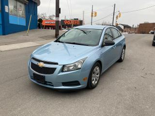 Used 2012 Chevrolet Cruze LS+ w/1SB/AUTO/NOACCIDENT/CERTIFIED for sale in Toronto, ON