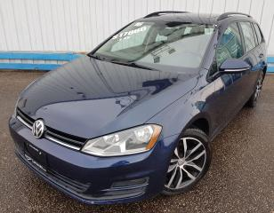 Used 2016 Volkswagen Golf SportWagen TSI Comfortline *LEATHER-SUNROOF* for sale in Kitchener, ON