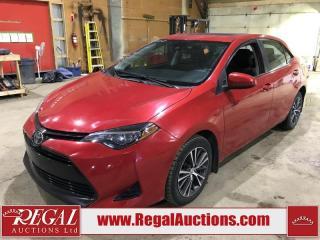 Used 2017 Toyota Corolla 4D Sedan for sale in Calgary, AB